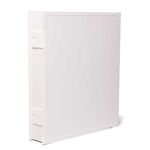 Vue-All Archival Safe-T-Binder with Rings, White (2 Pack)