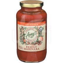 AMY'S, Pst Sce, Og2, Family Mrn, Ls, Pack of 6, Size 25.5 OZ, (Gluten Free Vegan Yeast Free 95%+ Organic)
