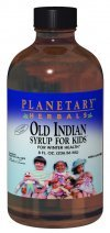 Planetary Herbals Old Indian Syrup for Kids, for Winter Health,4 Ounces