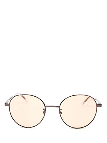 Luxury Fashion | Balenciaga Woman BB0009SK003 Grey Metal Sunglasses | Season Permanent