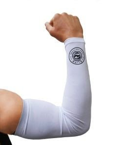 Compression Arm Sleeves (One Pair) Unisex, Perfect for Treating and Preventing Muscle Soreness, UV Protection, Temperature Regulation Great for Basketball, Baseball, Softball, Football, Rugby, Tennis by ELITE HEALTH AND FITNESS