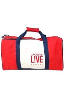 Lacoste - Bolsa de viaje red / blue & white 54cm(l) x 28cm