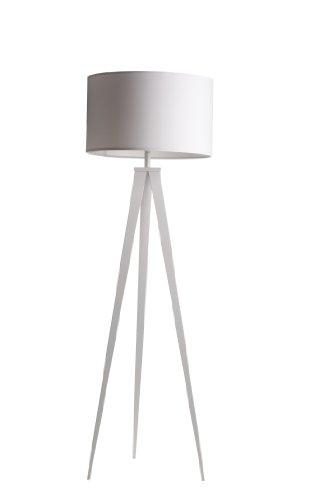 TRIPOD FLOOR LAMP IN WHITE: Amazon.co.uk: Lighting