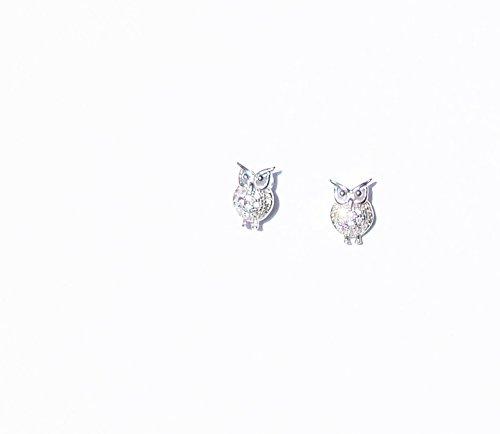 Boucle d'oreilles Chouette