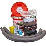 SPILLVAK High Viscosity Spill Kit Absorbent for Oil, Transmission, Brake and Power Steering Fluids