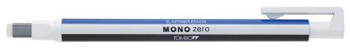 Tombow Mono zero Präzisionsradierer-Set, rechteckige Spitze Radiergummi, weiß/Radierer Refills (Pack von 2)