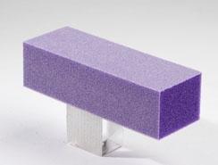 Dixon Buffer Block Purple White Grit 3 Way 100/180 500pcs by Dixon by Dixon