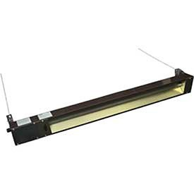 TPI Corporation OCH-46-120VCE Outdoor(Semi-Protected)/Indoor Rated Quartz Electric Infrared Heater, 1500 Watts, 120 Volt, Brown Finish, 48