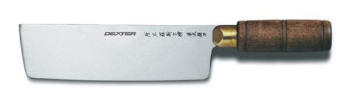 """Dexter Russell S5197 Traditional 7"""" Chinese Chefs Knife"""