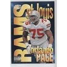 Orlando Pace (Football Card) 1997 Skybox Impact - Boss #18