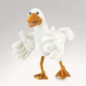 Folkmanis Goose Hand Puppet