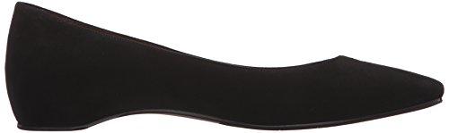 Suede Black Aquatalia Flat Marcella Women's Snqfp