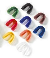 Zahnschutz für Oberkiefer mit Dose transparent
