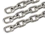 Cadena de eslabones cortos de acero inoxidable T316 (A4) de ...