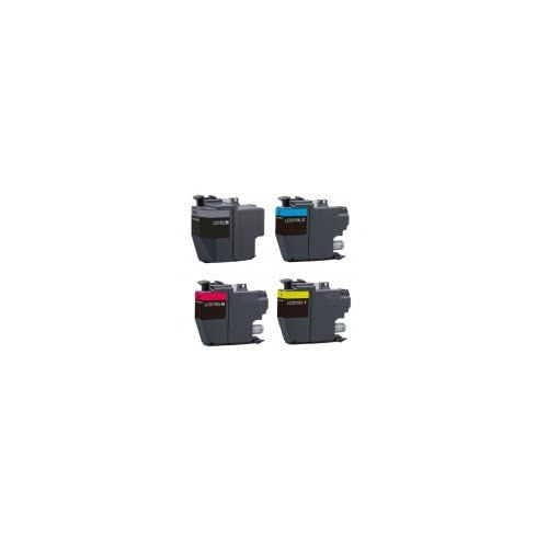 Pack de 4 BROTHER LC3217/3219XL Cartouches Compatibles - Noir/Cyan/Magenta/Jaune