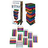 Totika Therapy Game Ten Card Deck Set with 48 Colored Stackable Blocks - Anger, Bullying, Resilience, Self Esteem, Life Skills, Junior, Teen-Adult, Divorce, Icebreaker, and Blank Deck