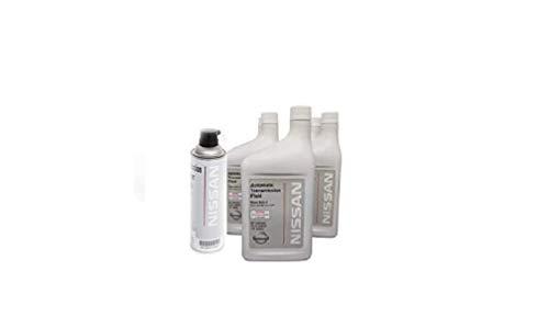 Nissan Matic-S Transmission Fluid Drain & Fill