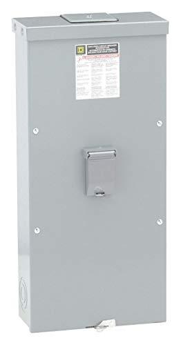 Square D Circuit Breaker Enclosure, Steel, 3R NEMA Rating, 31.05