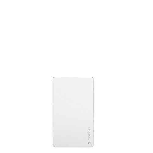 mophie powerstation External Battery for Universal Smartphones and Tablets (6,000mAh) - White