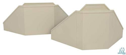 (Walthers Cornerstone 933-3881 Bridge Abutment Kit (2pcs))