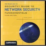 Web-Based Labs Printed Access Card for Ciampa's Security+ Guide to Network Security Fundamentals, Lab and Ciampa, 1435484045