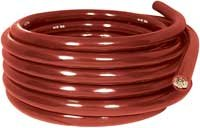 Imperial 6055 4/0-gauge Standard Battery Cable, 25', Red