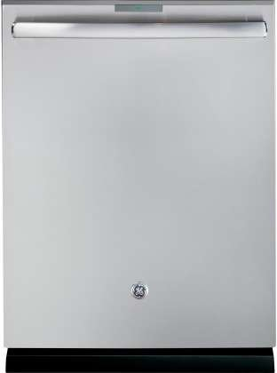 GE Profile PDT845SSJSS 24' Built In Fully Integrated Dishwasher with 7 Wash Cycles, in Stainless Steel