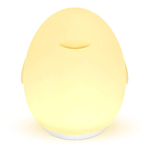 - Night Light for Kids - Baby Nursery Light Bedside Lamp for Breastfeeding with Dimming Function, Color Changing Mode, Rechargeable Night Light with Eye Caring LED, Touch Control, 1H Timer, Up to 100H