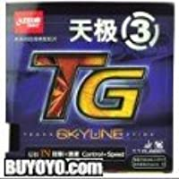 DHS Skyline TG3 Table Tennis Rubber Sheet DXDC141-4 (Red)