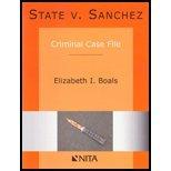 State V. Sanchez Criminal Case File Revised Edition