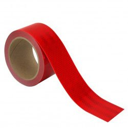 3''x50 yds Red, 3M Flexible Prismatic Conspicuity Tape Series 963