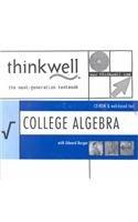 Thinkwell College Algebra With Edward Burger