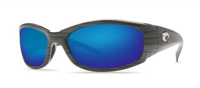 Costa Del Mar Hammerhead Sunglasses, Silver Teak/Blue Mirror 580Glass by Costa Del Mar