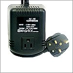 VCT VOD100UK - 100 Watt Step Down Voltage Converter With UK Style Plug For Travel to 220V/240V Countries