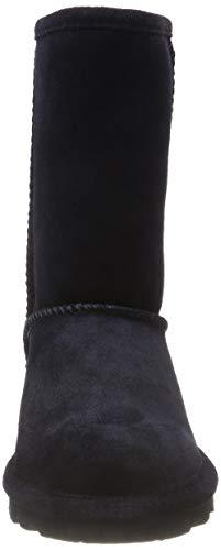 Femme Blau Bearpaw Bottines Short 310 Noir Navy ESSTgWqw