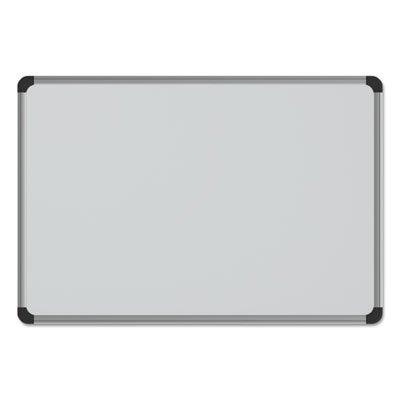 Magnetic Steel Dry Erase Board, 48 x 36, White, Aluminum Frame, Sold as 1 Each