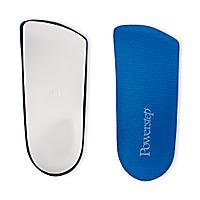 Powerstep Slim Tech Men's / Women's 3/4 Insoles, Men 5-6.5 Women 7-8.5