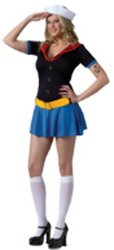 Ms. Popeye Adult Costume - Medium/Large