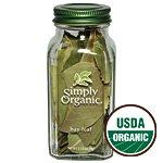Simply Organic Bay Leaf ORGANIC 0.14 oz. bottle (a)
