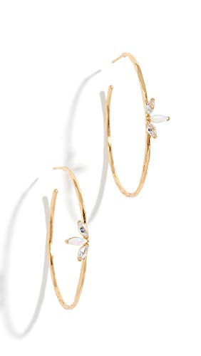Gorjana Women's Perry Hoop Earrings, Opalite, One Size