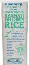 Rice, Brown Basmati, Organic, 25# Bulk