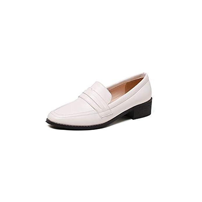 Lsm-heels Women's Retro Flat Bottom Leisure Shoes