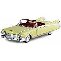 Signature Models 1959 Cadillac Eldorado Biarritz Convertible, Yellow 32350 - 1/32 Scale Diecast Model Toy Car