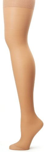Hanes Silk Reflections Women's Alive Full Support Control Top Pantyhose, Little Color, - Style Pantyhose Support