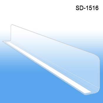 Clear Plastic Shelf Divider 1
