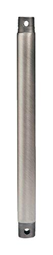 Kichler 360000AP Accessory Fan Down Rod 12-Inch, Antique Pewter ()