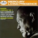 Hanson: Symphony No. 3 / Elegy in Memory of Serge Koussevitzky / Lament for Beowulf by Mercury