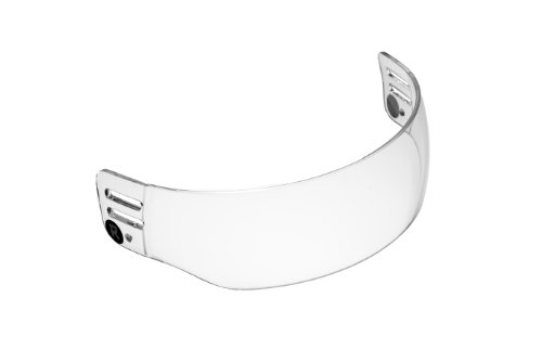 Ronin (TM) R5 Vented-Cut Hockey Visor (Anti-Scratch / (Cut Half Shield)