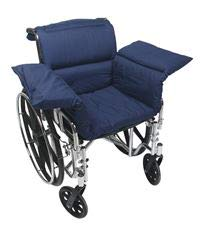 ALIMED 910203 Wheelchair Comfort Seat Navy
