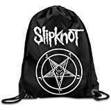 Drawstring Backpack Bag Slipknot Rock Band